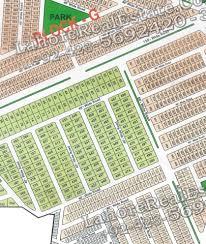Map Central Park Central Park Lahore Map