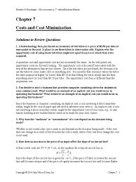 ch07solution manual production function labour economics