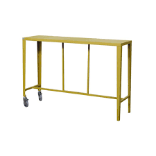 Console Bar Table by Skyline Bar Table Vermobil Galvanized Steel Jdv
