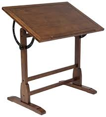 drafting table replacement parts studio designs 13304 vintage drafting table rustic oak amazon ca