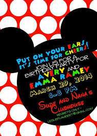 emma ramey u0027s mickey mouse clubhouse birthday the details