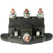 amazon com winch motor continuous duty reversing solenoid dc