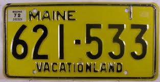 Maine State Vanity Plates Using Vintage License Plates Ih8mud Forum
