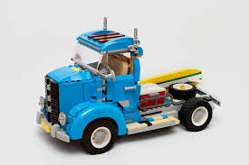 truck instructions moc moc 9001 vintage truck building instructions and parts