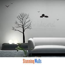 Tree Wall Decals For Living Room For Living Room U2013 Decalideas Wall Decals