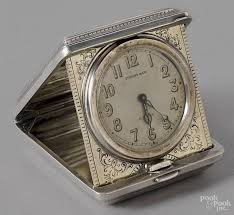 Colorado Travel Clock images Tiffany co sterling silver travel clock earl by pook pook jpeg