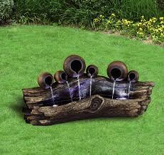 garden fountain ideas diy home outdoor decoration