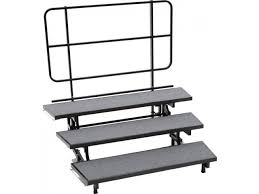 Choir Stands Benches E Z Folding Choir Riser 3 Level 18