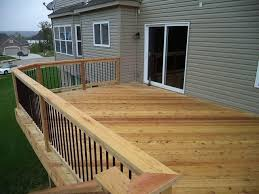 fence u0026 deck depot inc decks photo album missouri cedar deck