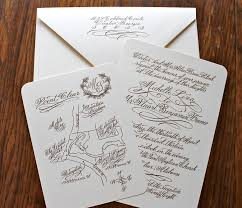 New Ideas For Wedding Invitation Cards Impressive Handwritten Wedding Invitations Theruntime Com