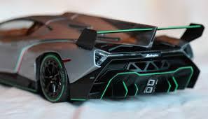 Lamborghini Veneno White - review 1 18 scale kyosho lamborghini veneno with green trim