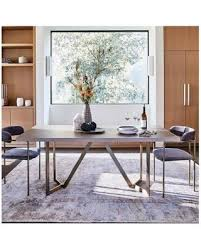 artefama tower dining table sale west elm tower dining table 72 concrete blackened brass