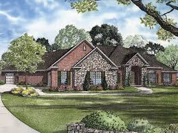 Stone House Plans Brick And Stone Home Designs