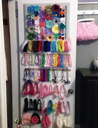 hair accessories organizer clever baby hair bow organization project nursery