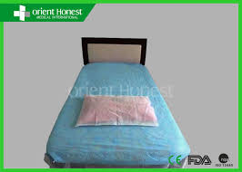 disposable cheap bed sheets flat wuhan orient honest medical