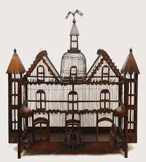 large decorative bird cage birthday decoration