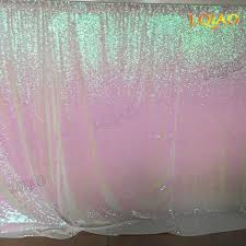 wedding backdrop chagne 10ftx6ft color change white sequin fabric backdrop wedding photo