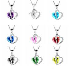 vintage blue stone necklace images New arrival korean exaggerated vintage black stones love heart jpg