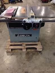 Heavy Duty Table by Delta Rt 40 Heavy Duty Table Saw 7 5hp 3ph With Delta Unisaw Fence