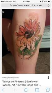 50 amazing sunflower tattoo ideas shoulder tattoos sunflowers
