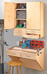 Woodworking Plans For Free Workbench by Garage Workbench Free Woodworking Plans And Information At