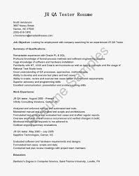 Sample Resume For Software Engineer With Experience by Junior Test Engineer Sample Resume 5 Awesome Collection Of Junior