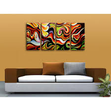 huge wall art abstract painting home decoration ideas canvas print