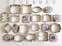 mini plaque cookie cutter giveaway sweetambs