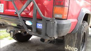 broken spare tire carrier youtube