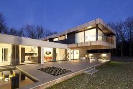 l shaped houses l shaped modern villa in the netherlands house at the edge of a