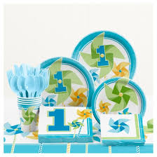 1st birthday party supplies turning one boy 1st birthday party supplies kit target