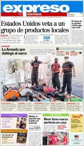 newspaper expreso ecuador newspapers in ecuador sunday u0027s