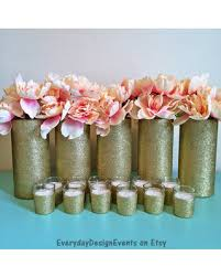 special gold wedding centerpiece gold vase centerpieces