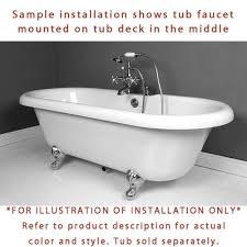 Clawfoot Bathtub Shower Clawfoot Tub Shower System Wall Mounted Shower Enclosure