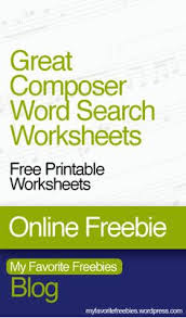 antonin dvorak composer word search worksheet http