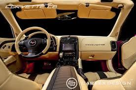 c4 corvette interior upgrades carlex design shows upgraded c6 corvette interior corvette