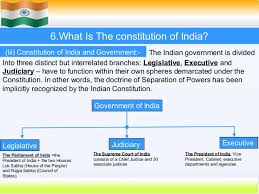 The Constitution Made No Mention Of A Presidential Cabinet Indian Constitution