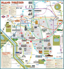 Map Of Barcelona Download Barcelona Map Tourist Attractions Major Tourist