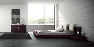 interior minimalist bedroom concept in white themed add with