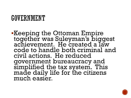 Ottoman Empire Government System Sswh12 The Student Will Examine The Origins And Contributions Of