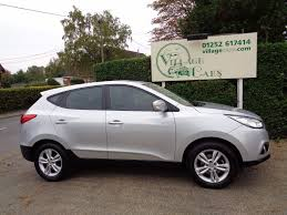 used hyundai ix35 for sale fleet hampshire