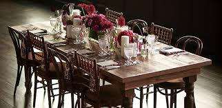 Country Dining Table Party Rental Ltd Country Dining Table