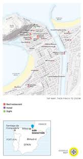 Santander Spain Map by Best 25 San Sebastian Map Ideas Only On Pinterest San Sebastian
