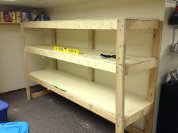 garage shelving ideas imagewood for wood shelf designs u2013 venidami us