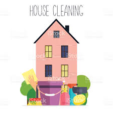 house cleaning poster template for house cleaning services with