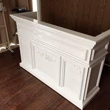 Vintage Reception Desk Usd 215 42 European Style Baking Paint Cashier Counter Simple