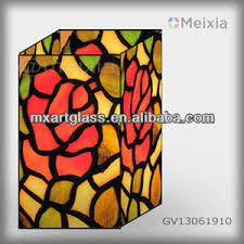 Stained Glass Vase Mf040077 Tiffany Style Stained Glass Vase Wholesale For Home