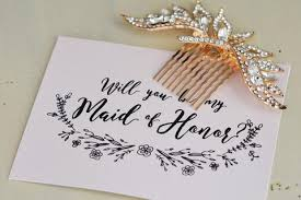 Will You Be My Maid Of Honor Gift Products U2013 Tagged