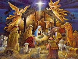 free religious clipart of jesus birth collection
