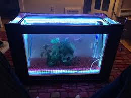 Fish Tank Living Room Table - fish tank coffee table 6 steps with pictures